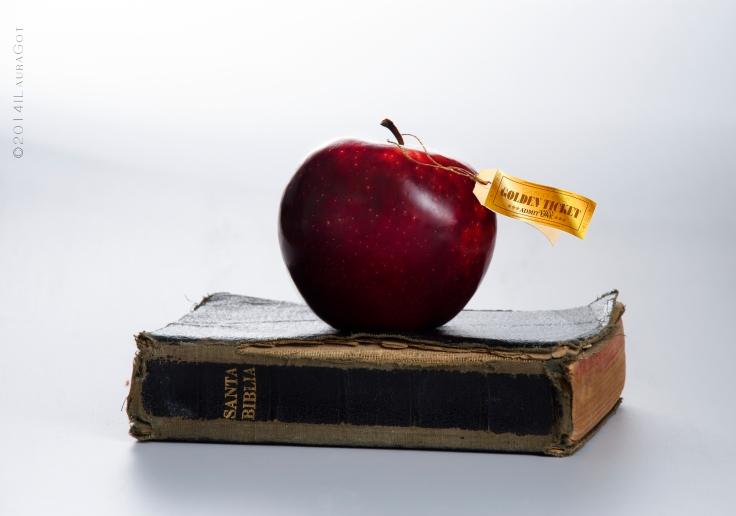 La manzanana,la biblia y el ticket