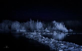 rio limay azul